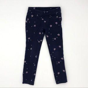 Girls Gymboree Floral Pants Size 5
